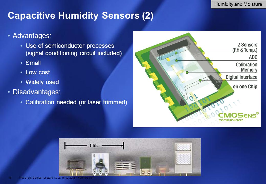 Capacitive Humidity Sensors (2)
