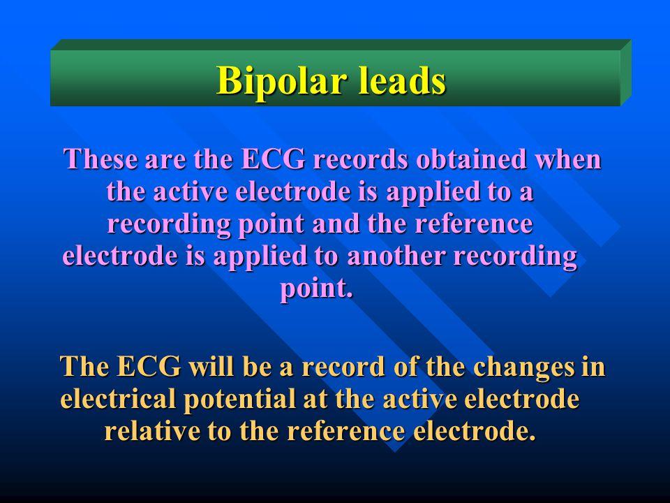 Bipolar leads
