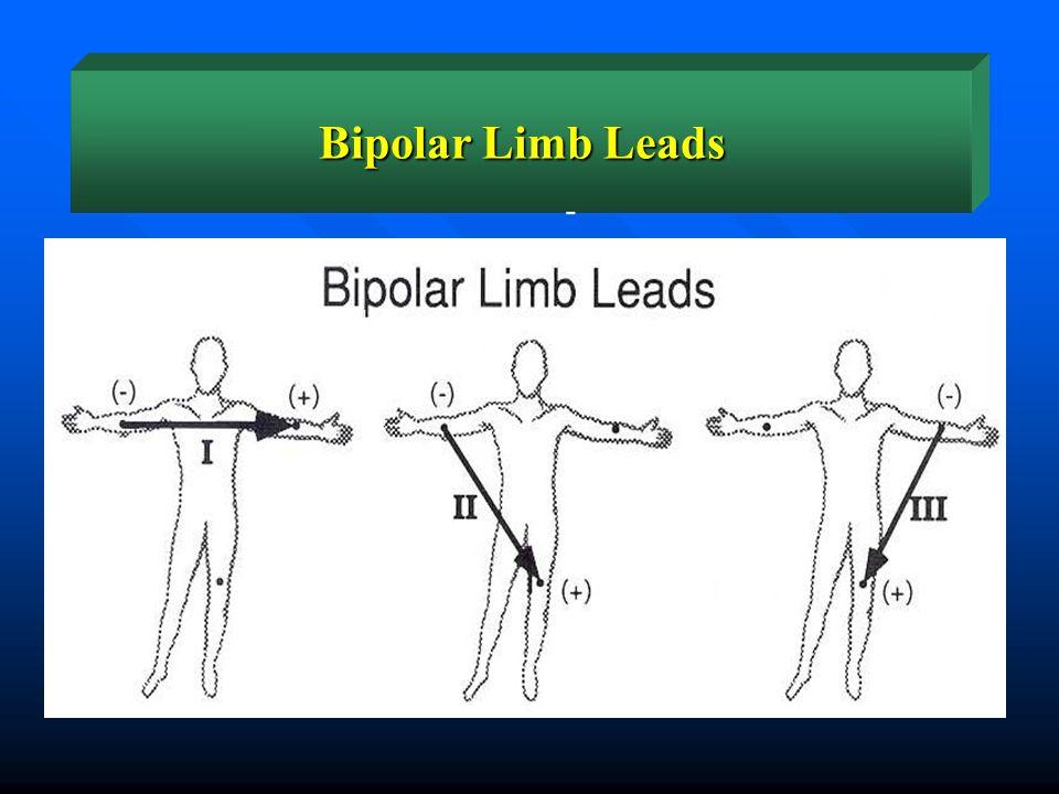 Bipolar Limb Leads - - + +