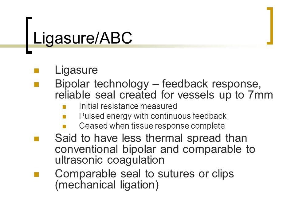 Ligasure/ABC Ligasure