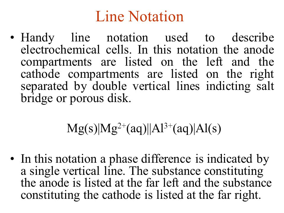 Line Notation