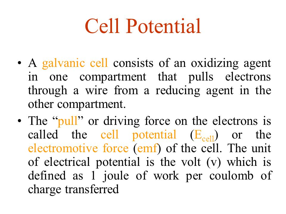 Cell Potential