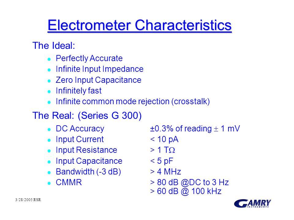 Electrometer Characteristics