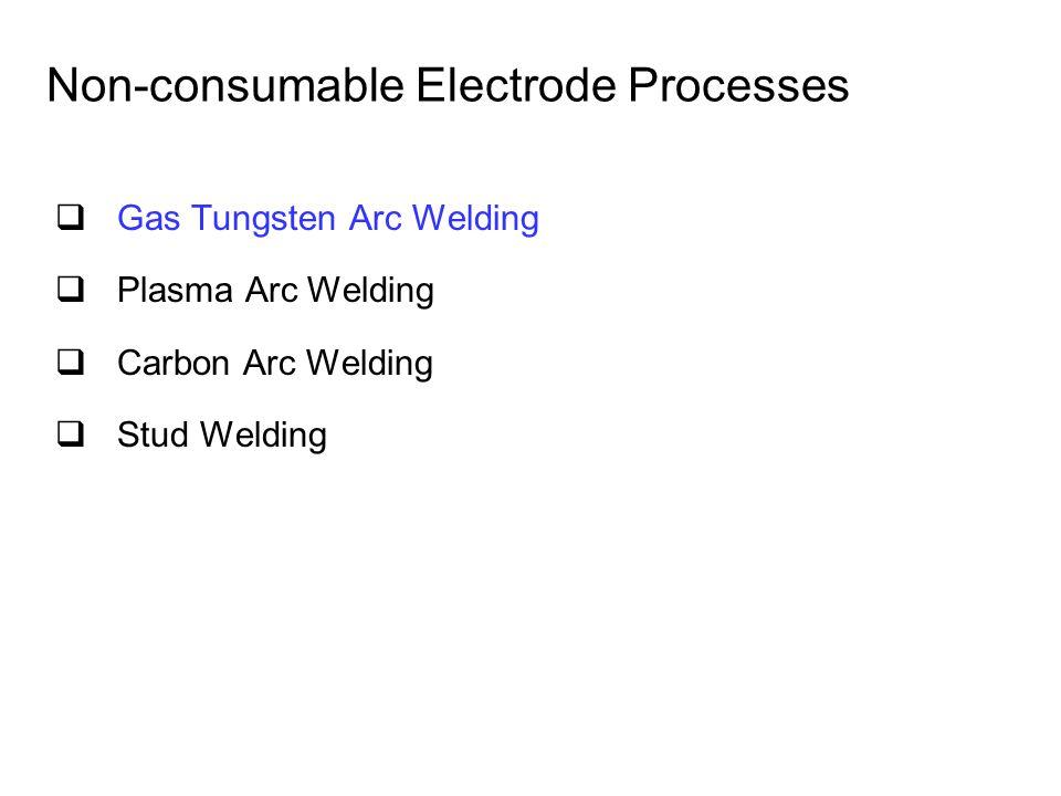 Non-consumable Electrode Processes