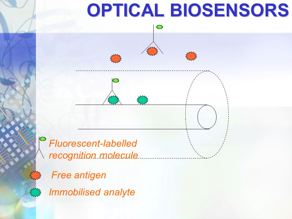 OPTICAL BIOSENSORS Fluorescent-labelled recognition molecule