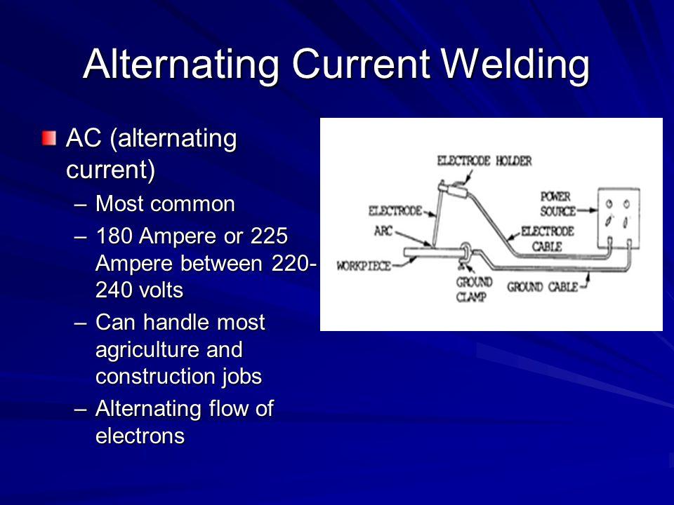 Alternating Current Welding