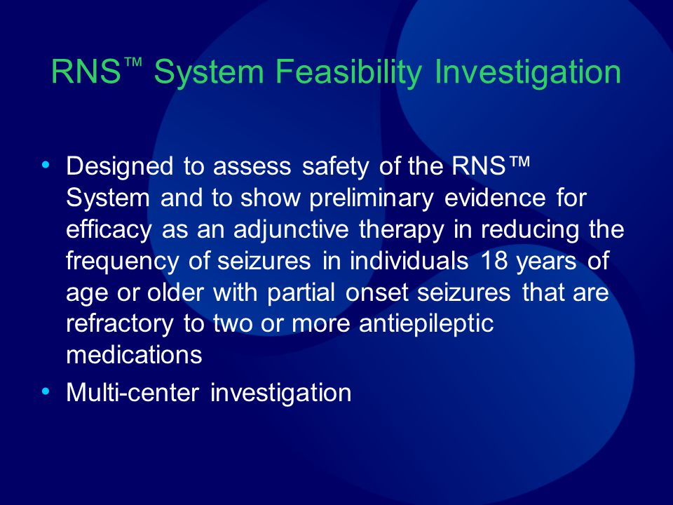 RNS™ System Feasibility Investigation