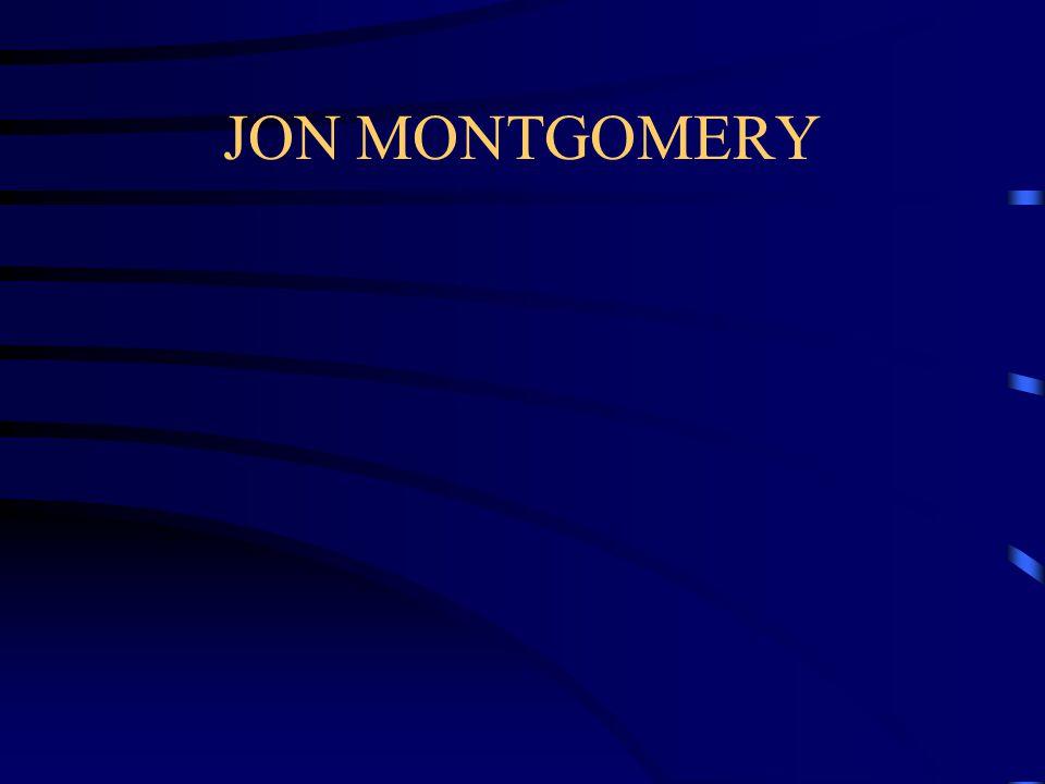 JON MONTGOMERY
