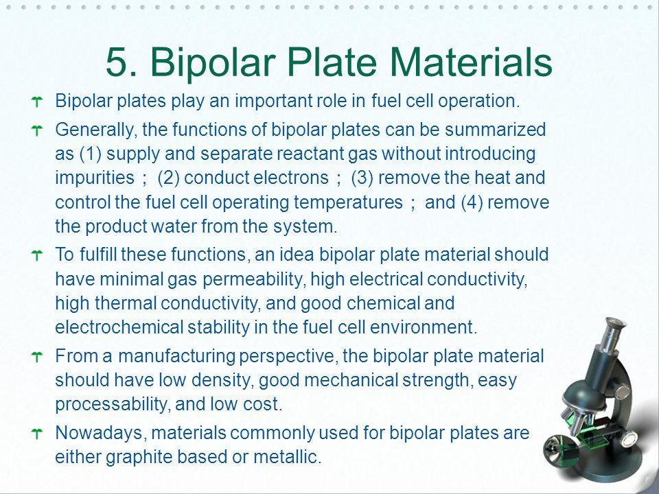 5. Bipolar Plate Materials