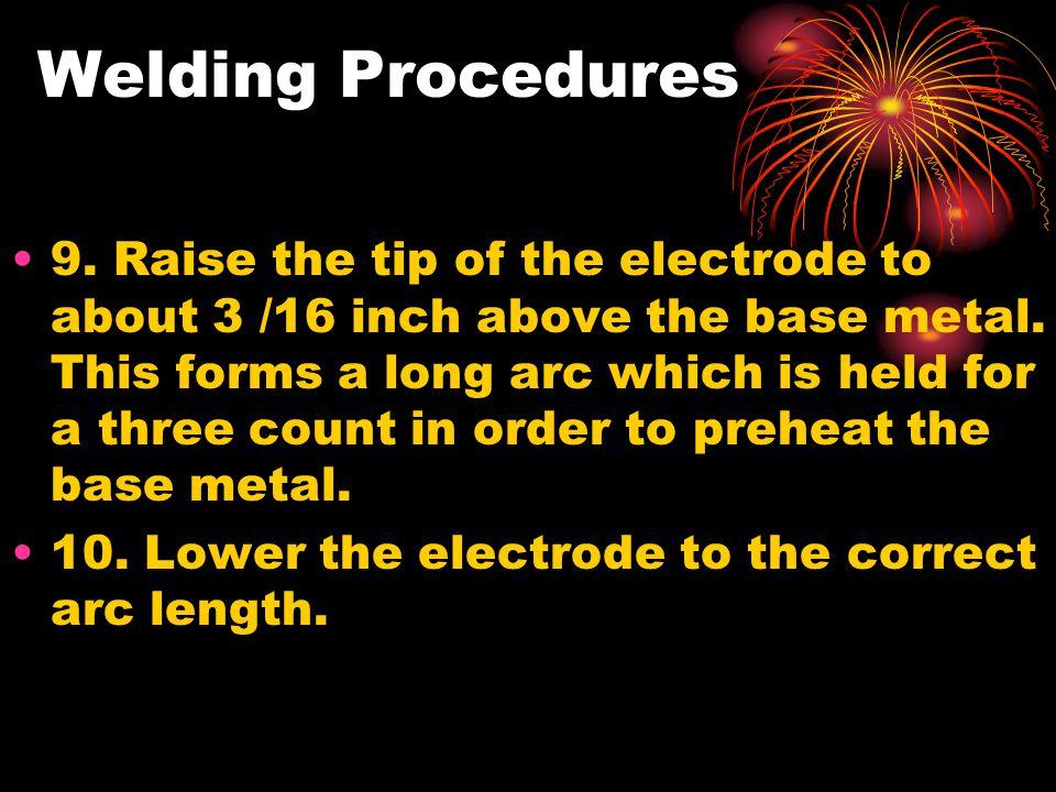Welding Procedures