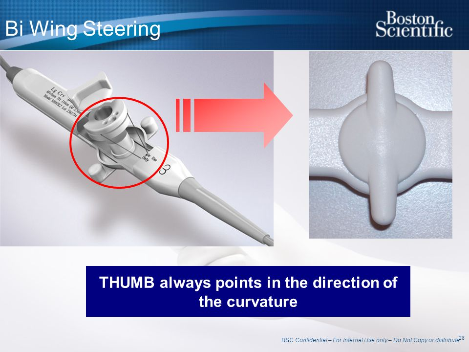 THUMB always points in the direction of the curvature