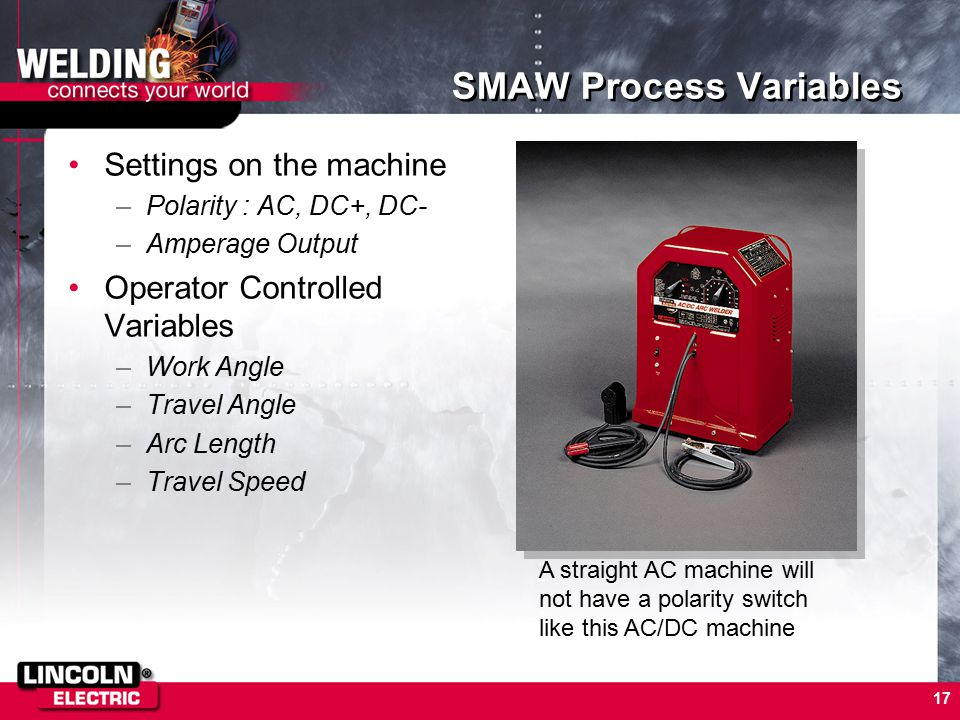 SMAW Process Variables