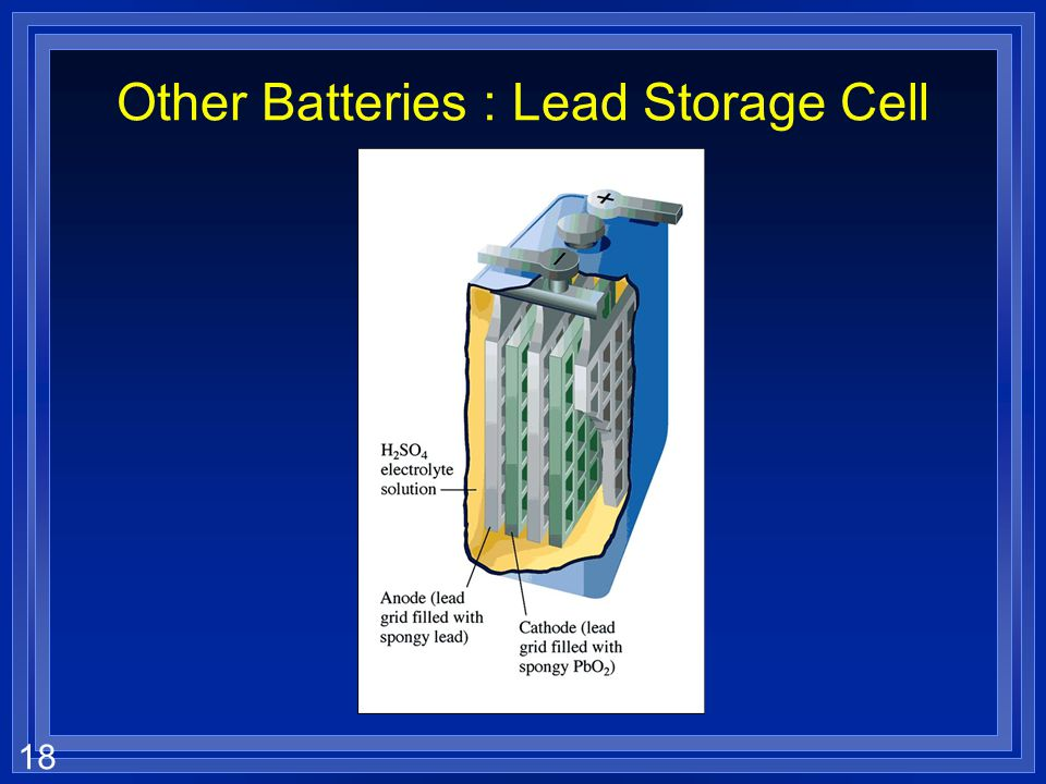 Other Batteries : Lead Storage Cell