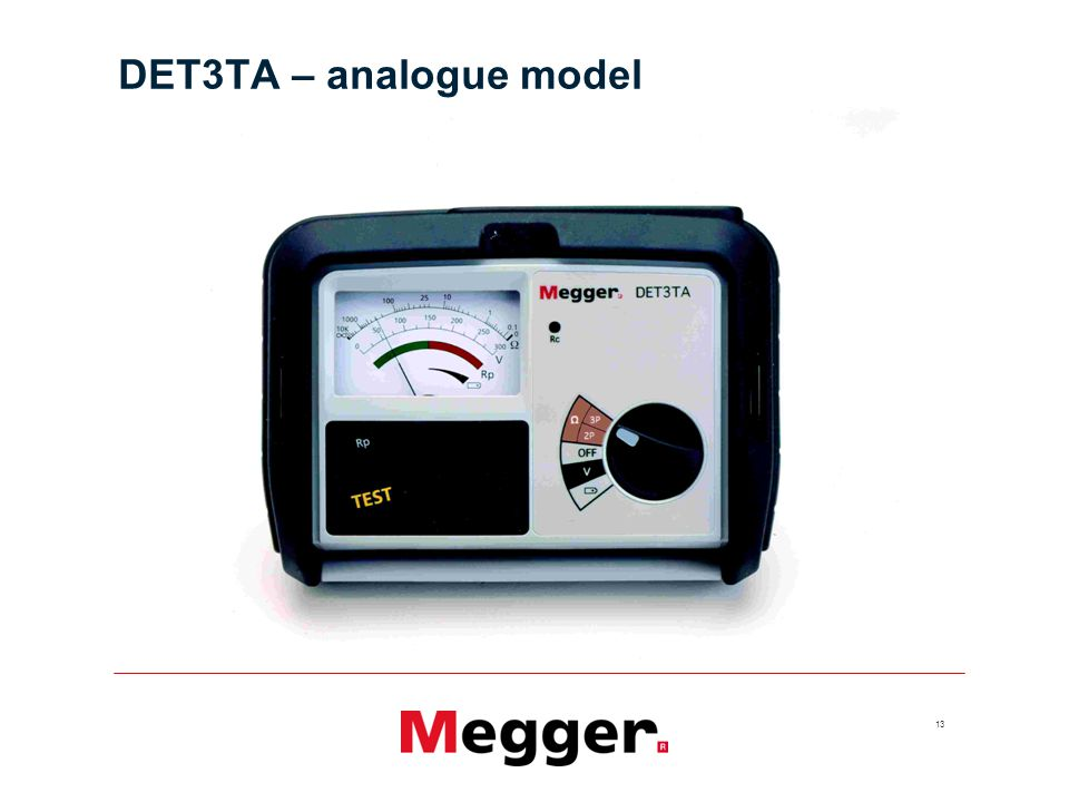 DET3TA – analogue model Notes: