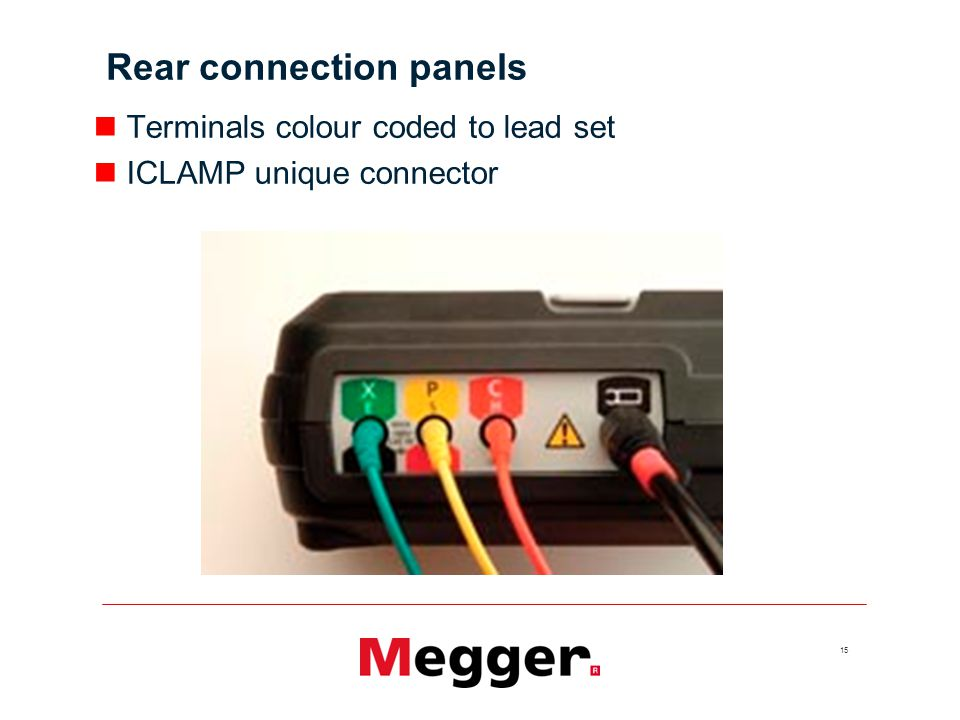 Rear connection panels