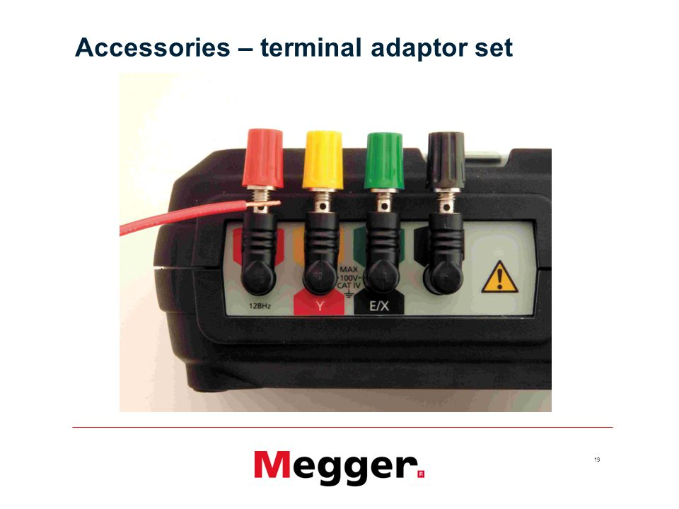 Accessories – terminal adaptor set