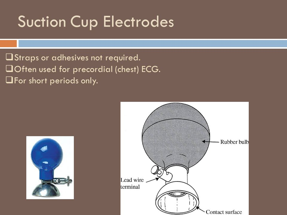 Suction Cup Electrodes