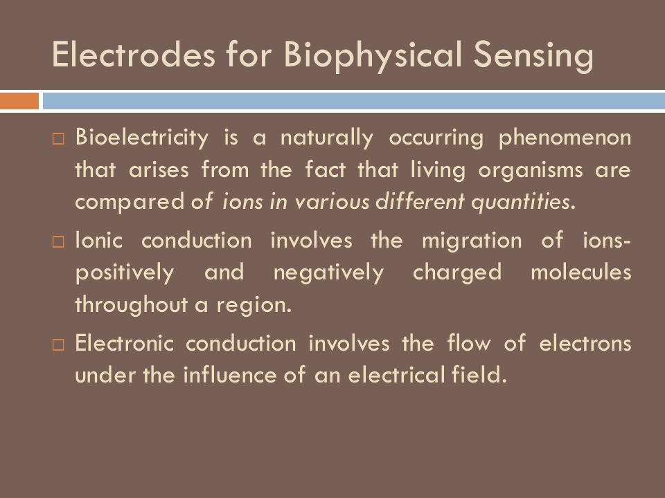 Electrodes for Biophysical Sensing