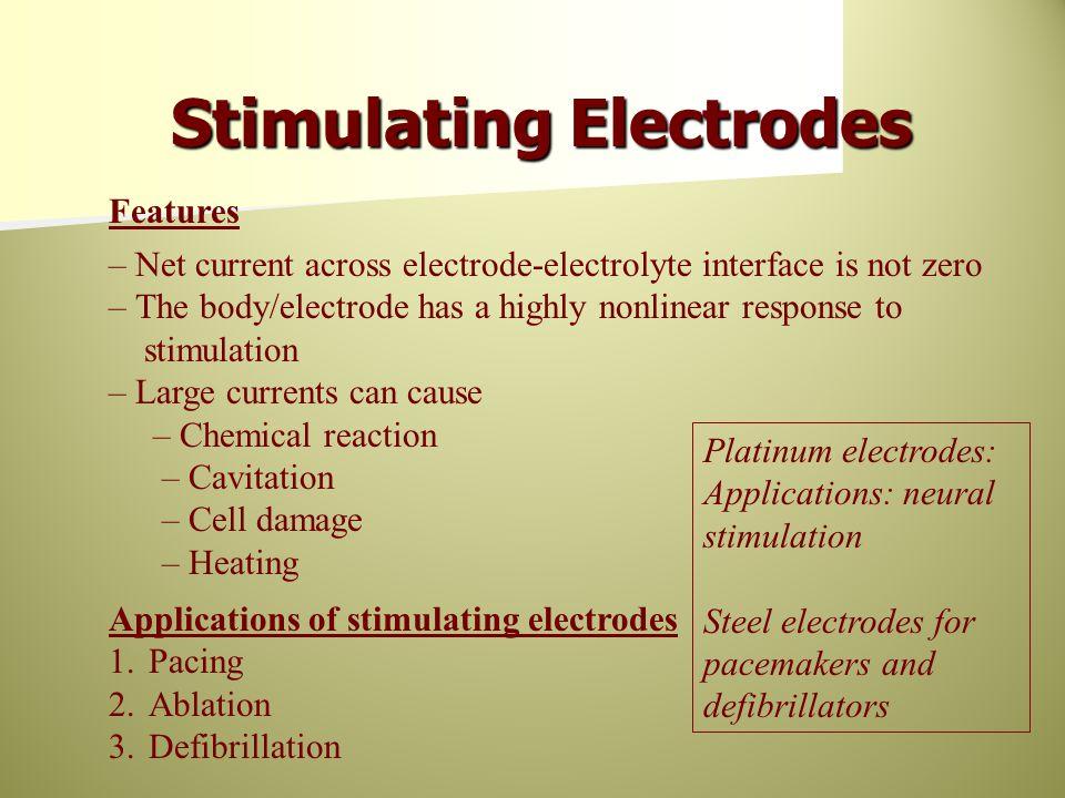 Stimulating Electrodes