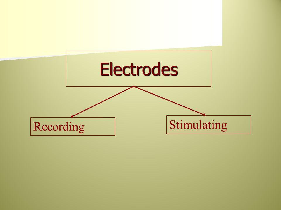 Electrodes Recording Stimulating