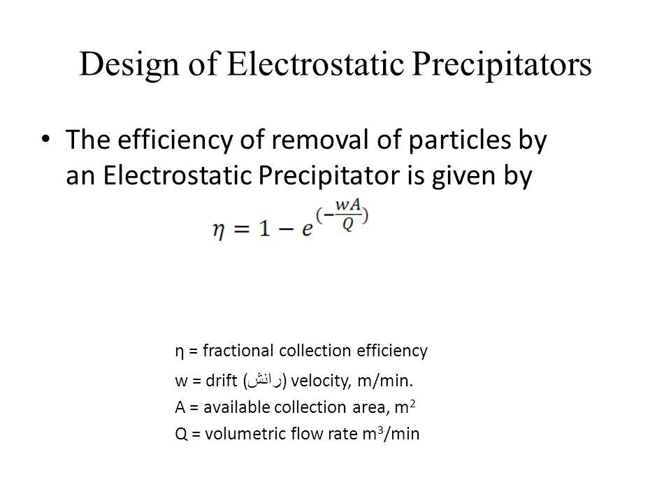 Design of Electrostatic Precipitators