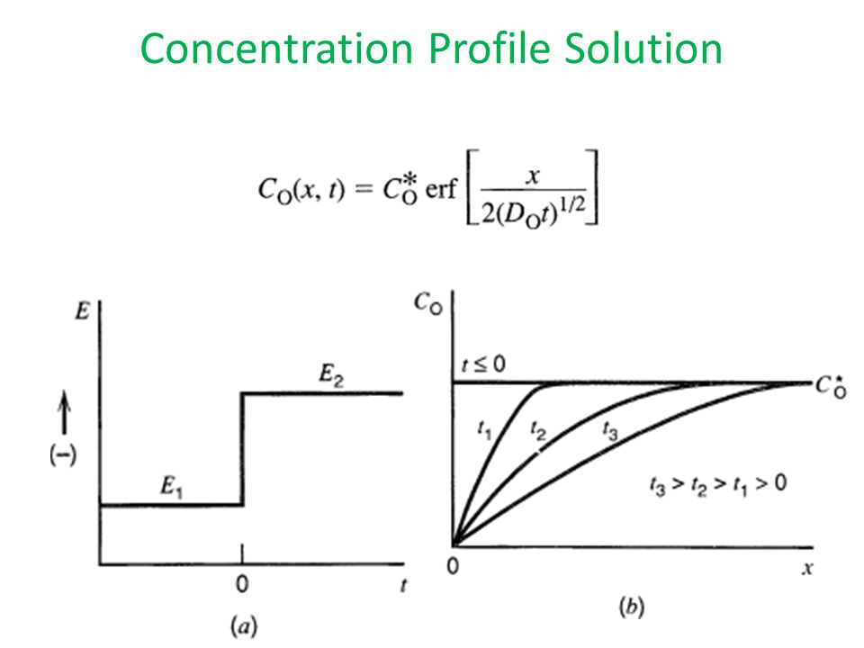 Concentration Profile Solution