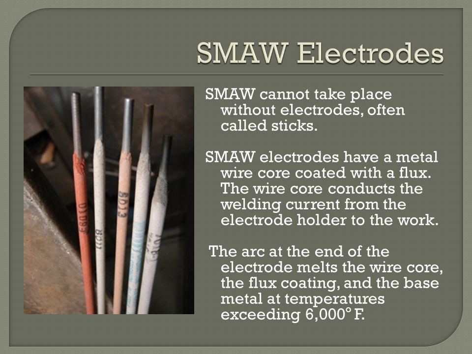 SMAW Electrodes