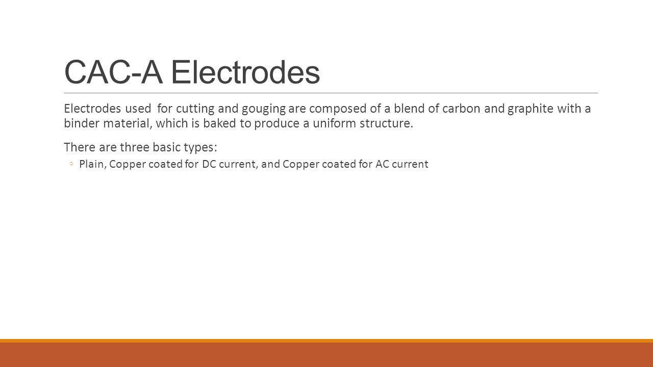 CAC-A Electrodes