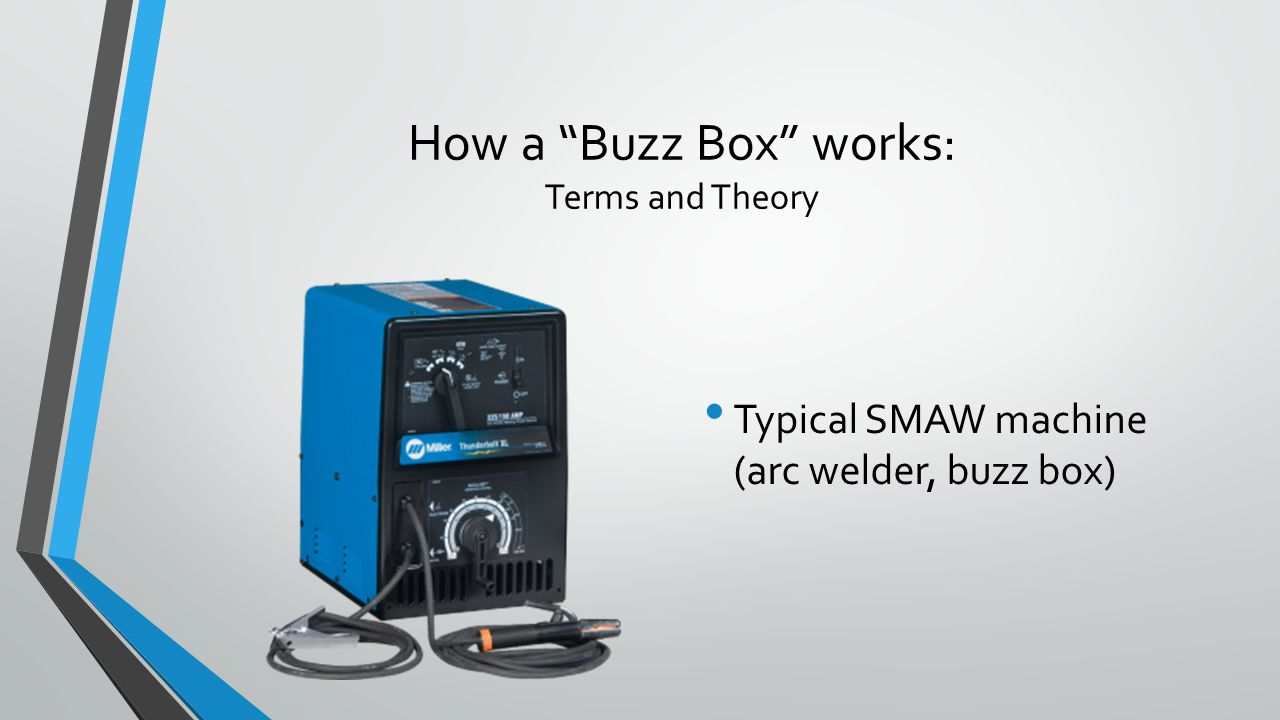 How a Buzz Box works: Terms and Theory