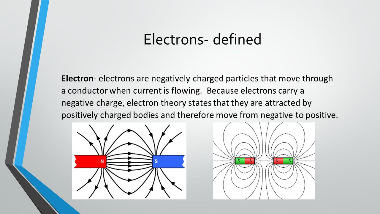 Electrons- defined