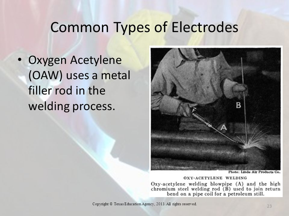 Common Types of Electrodes