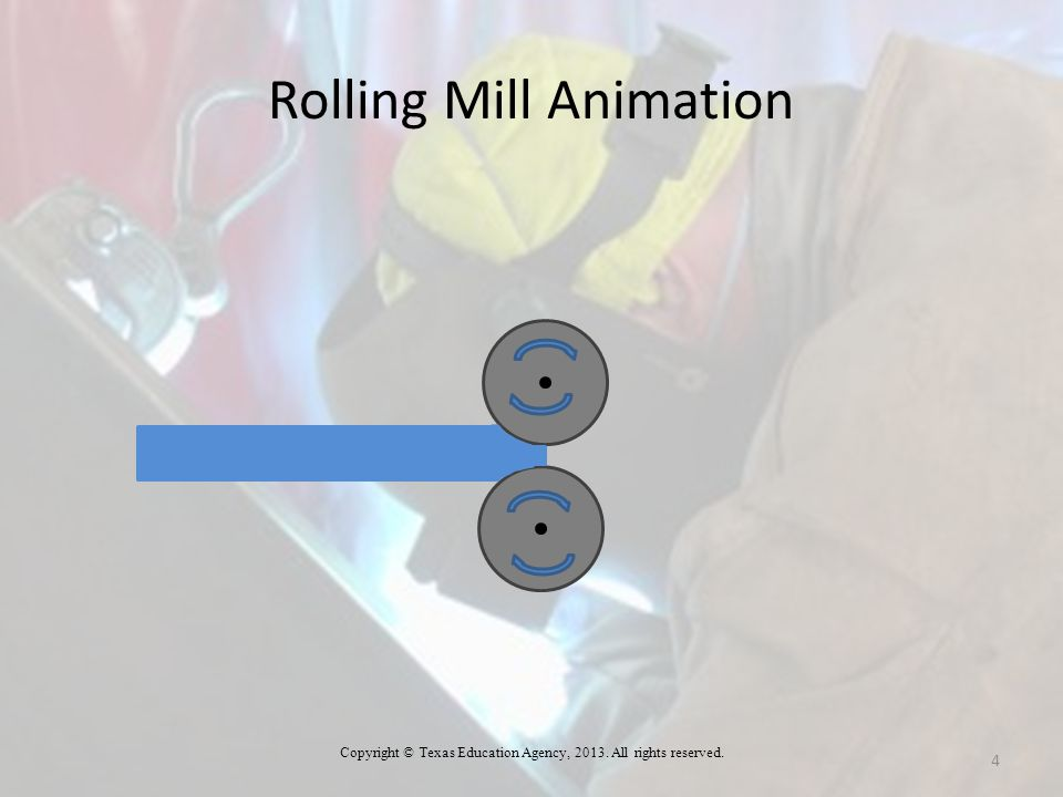 Rolling Mill Animation