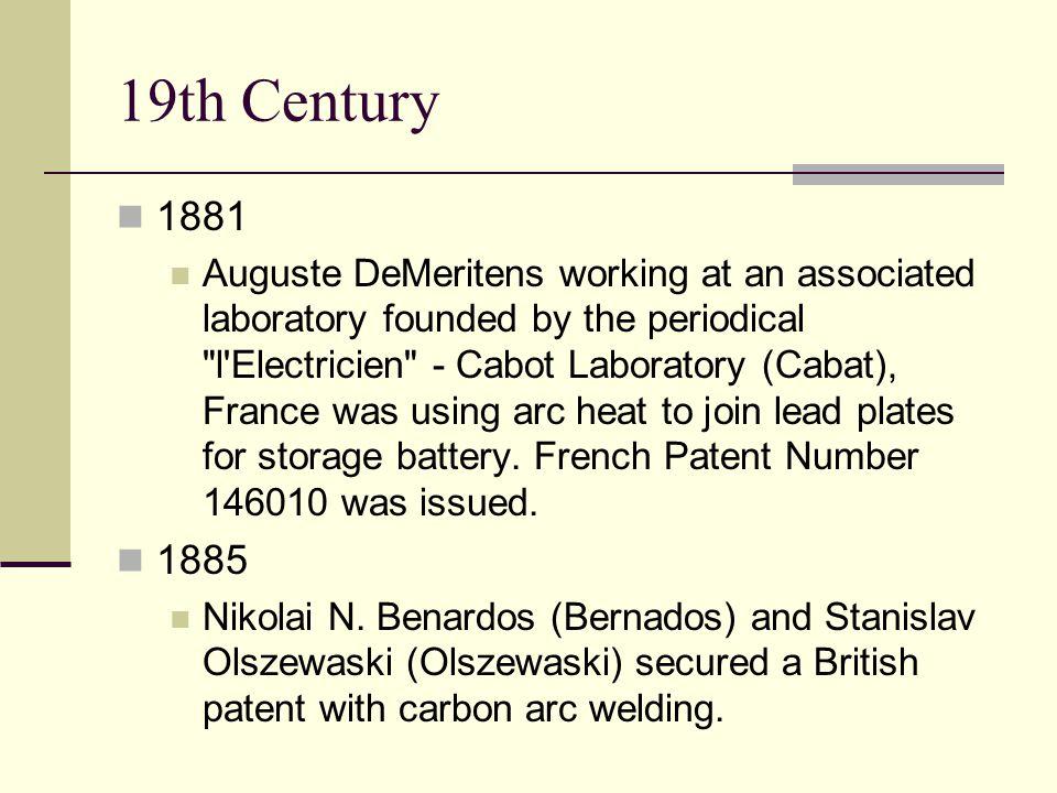 19th Century 1881.