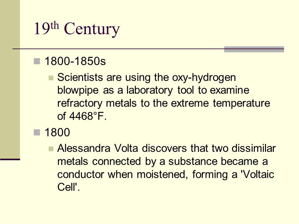 19th Century 1800-1850s.
