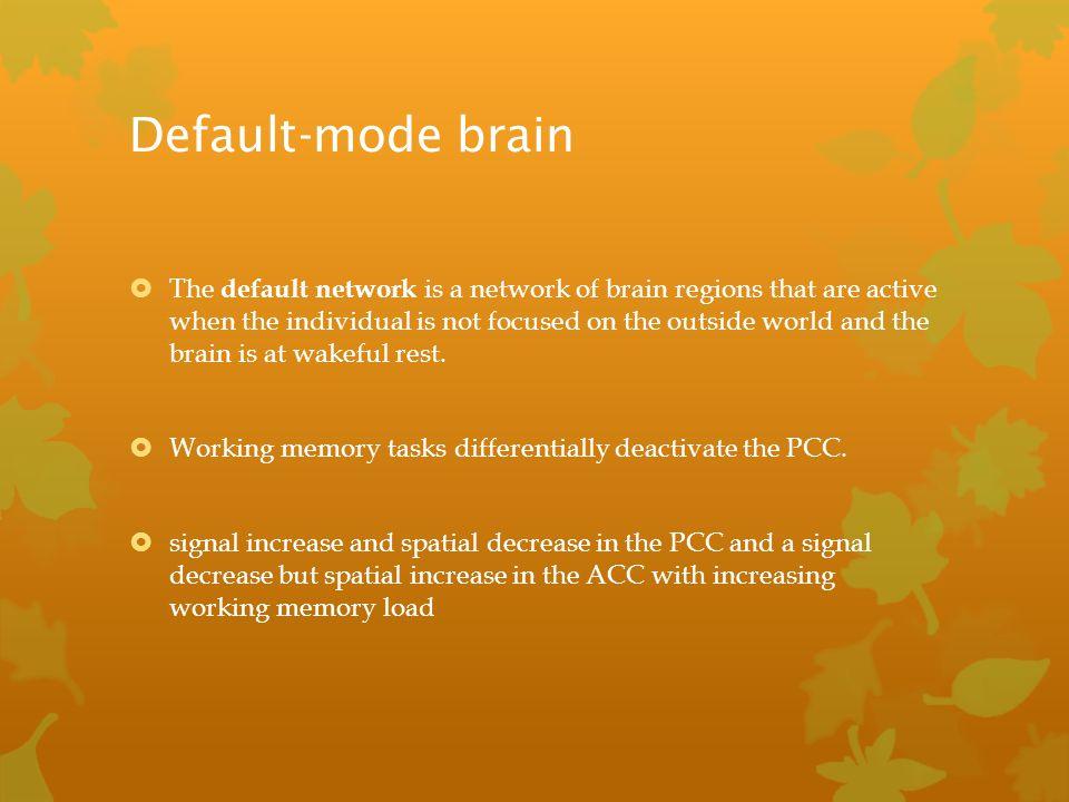 Default-mode brain