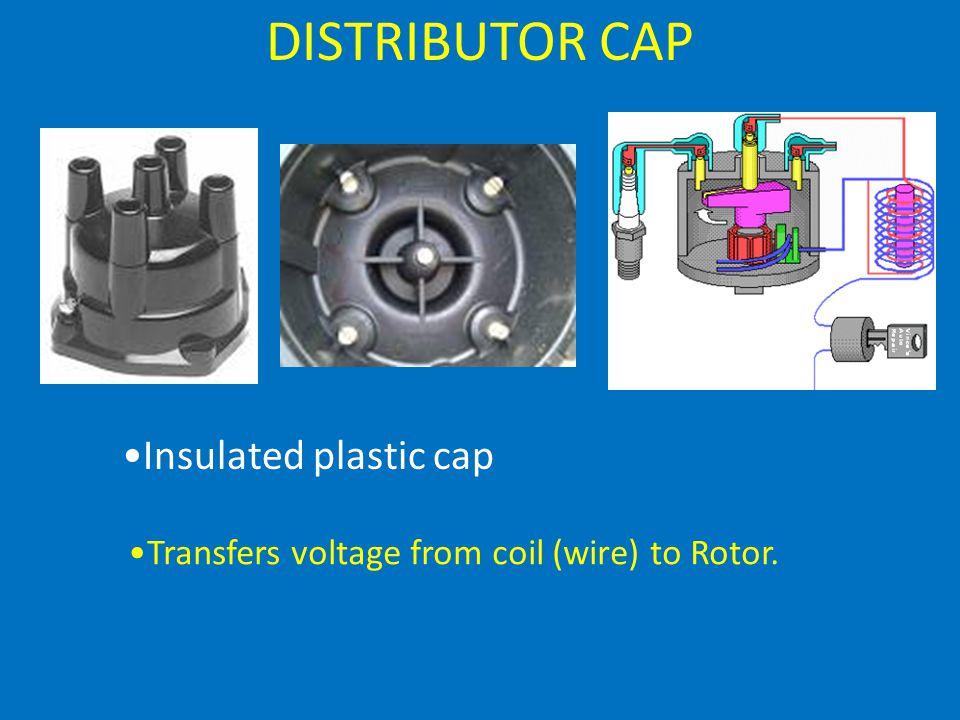 DISTRIBUTOR CAP Insulated plastic cap