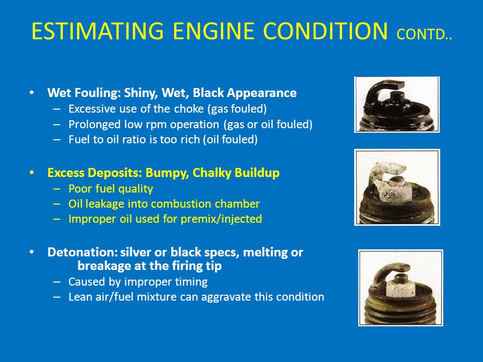 ESTIMATING ENGINE CONDITION CONTD..