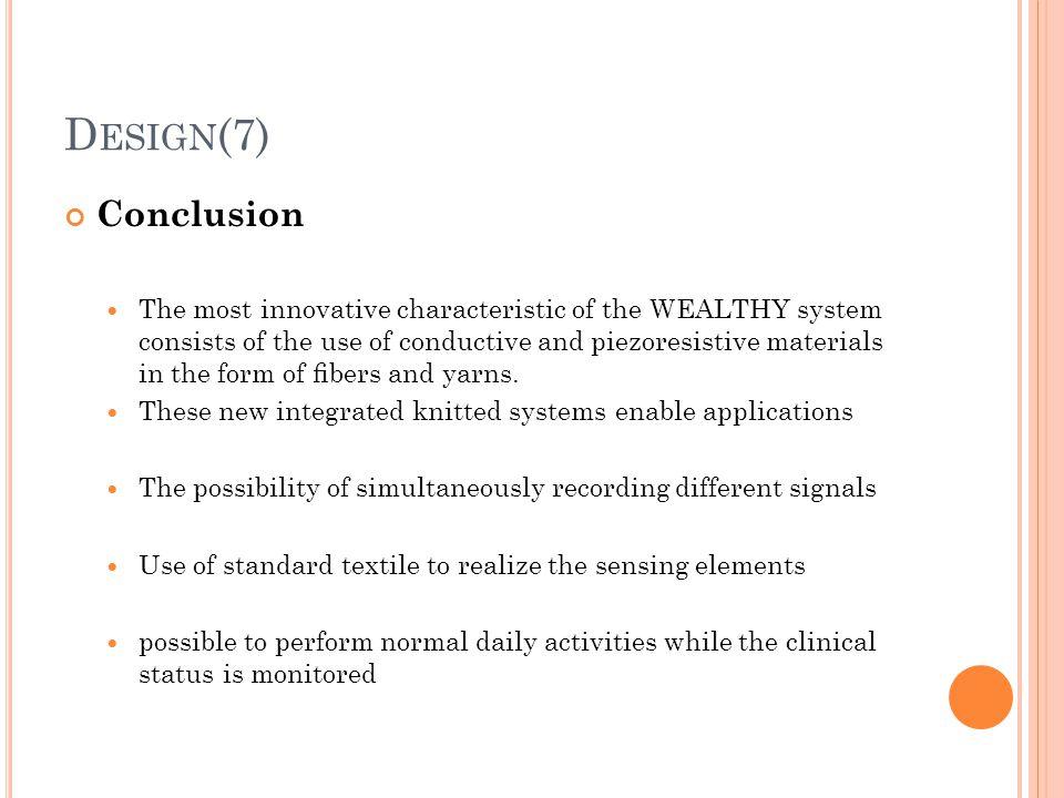 Design(7) Conclusion.
