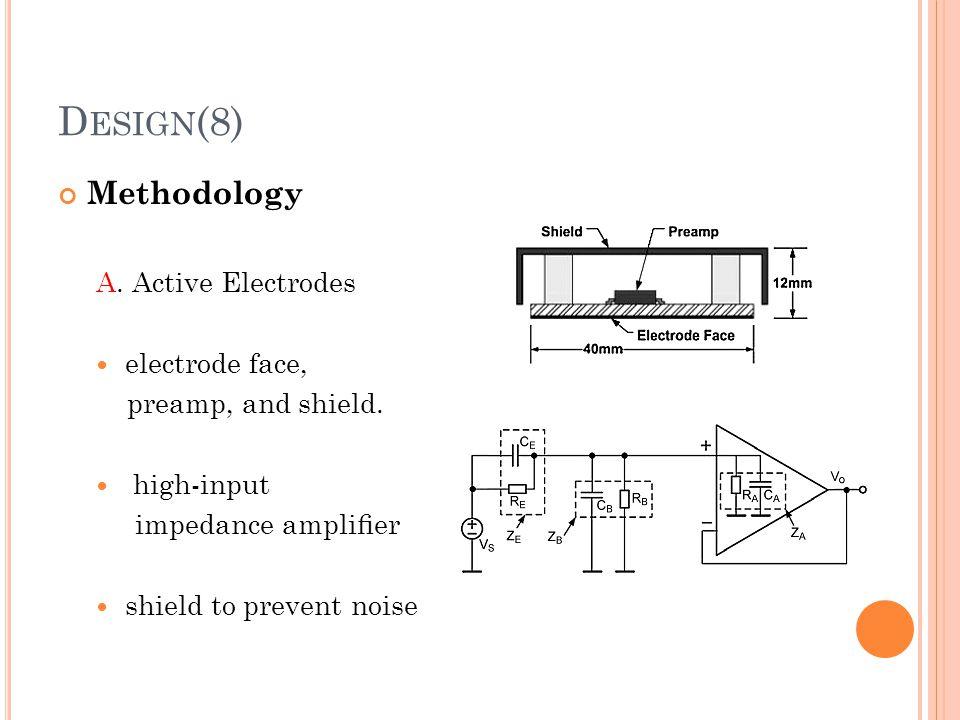 Design(8) Methodology A. Active Electrodes electrode face,
