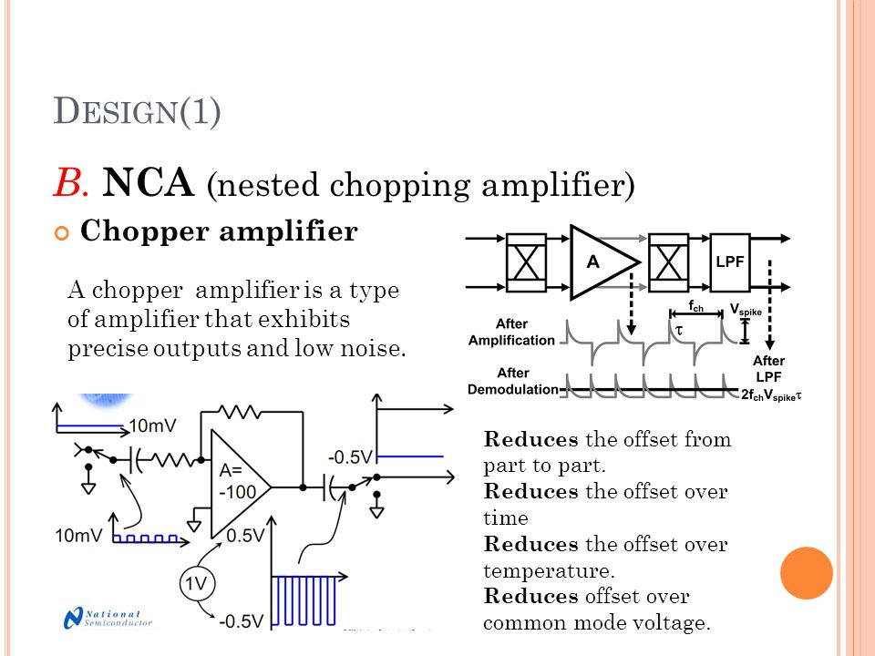 B. NCA (nested chopping amplifier)