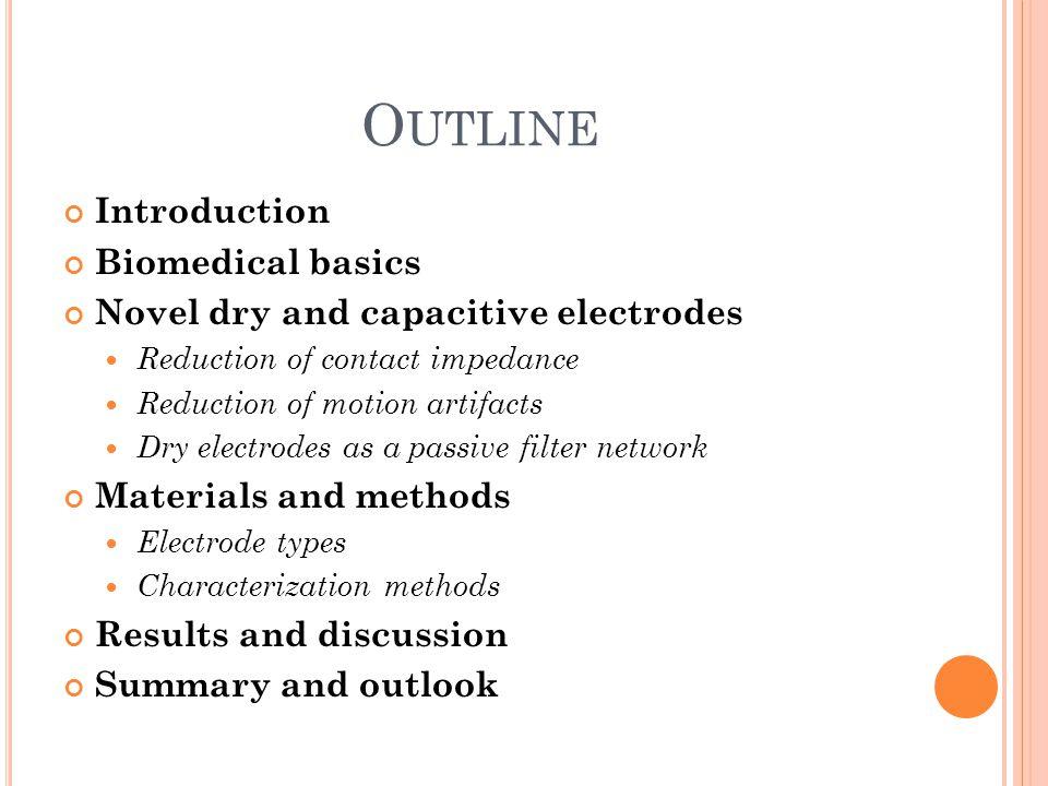 Outline Introduction Biomedical basics