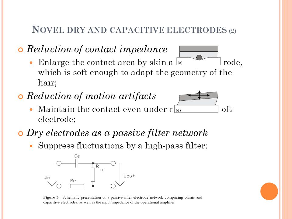 Novel dry and capacitive electrodes (2)