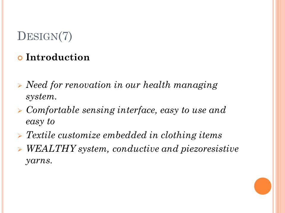 Design(7) Introduction