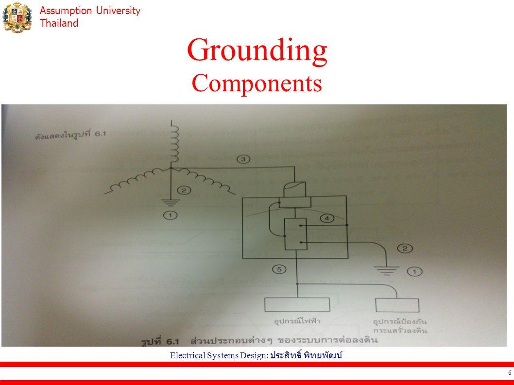 Electrical Systems Design: ประสิทธิ์ พิทยพัฒน์