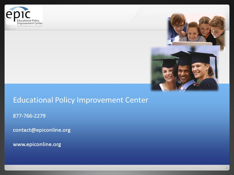 Educational Policy Improvement Center