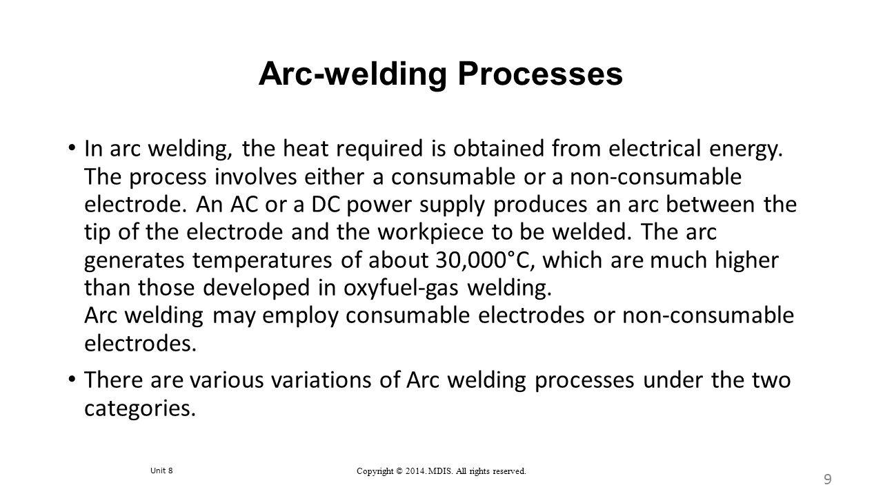 Arc-welding Processes