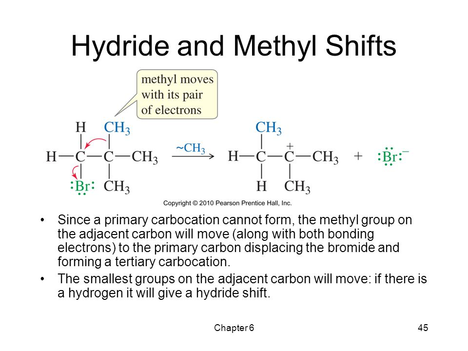 Hydride and Methyl Shifts