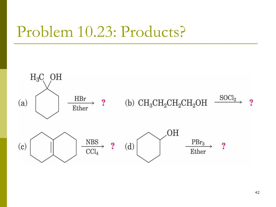 Problem 10.23: Products