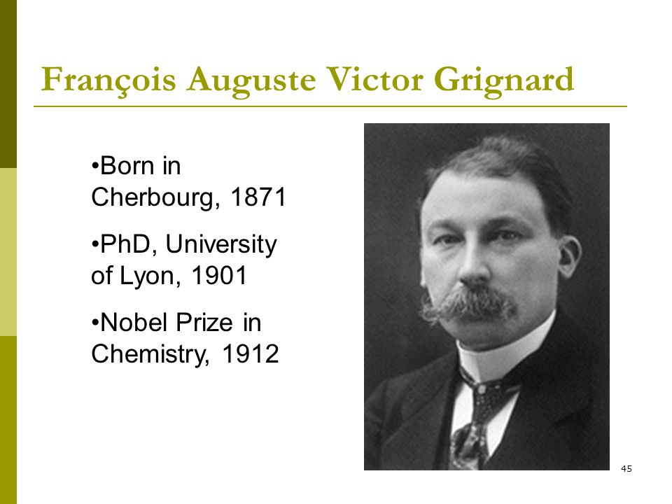 François Auguste Victor Grignard