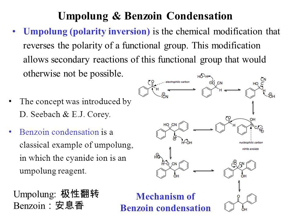 Umpolung & Benzoin Condensation
